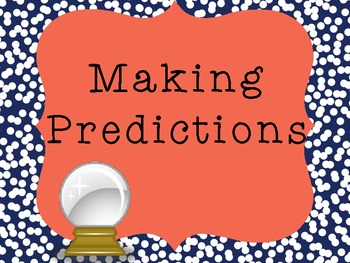 reading strategies making predictions by learning with