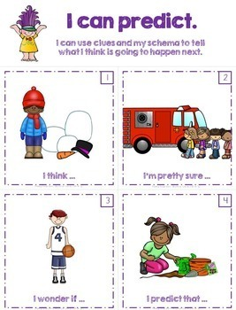 Reading Strategies  Making Predictions with Pictures and Stories