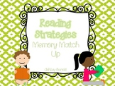 Reading Strategies Memory Match Up