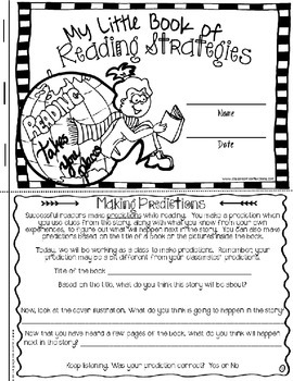 Reading Strategies: predicting, questioning, summarizing, visualizing