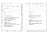 Reading Strategies Mini-Posters