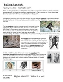 Reading Strategies - Mystery 2 - Does Big Foot Exist