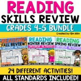 Reading Strategies Mystery Pictures | Grades 4-5 Bundle
