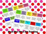 Reading Strategies Name Badges
