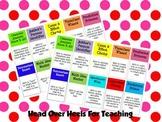 Reading Strategies Name Badges