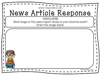 Reading Strategies News Article Response