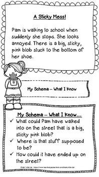 Reading Strategies Package K-3:Schema