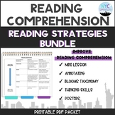Reading Strategies Packet and Posters Bundle
