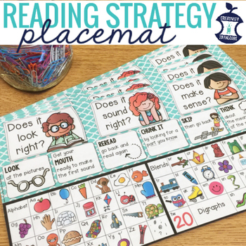 Reading Strategies Placemat