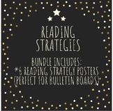 Reading Strategies Poster Bundle