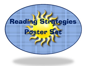 Reading Strategies Poster Set (8)
