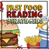 Fast Food Reading Strategies Posters