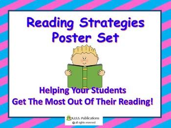 Reading Strategies Poster Set