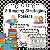 Reading Strategies Posters (Summarizing,Connecting,Predicting,Inferring &more)