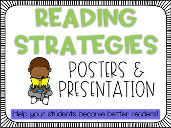 Reading Strategies Posters *UPDATED!*