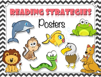 Reading Strategies Posters - Supports Common Core