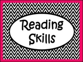 Reading Skills Posters: Main Idea,Cause/Effect, Author's Perspective & More