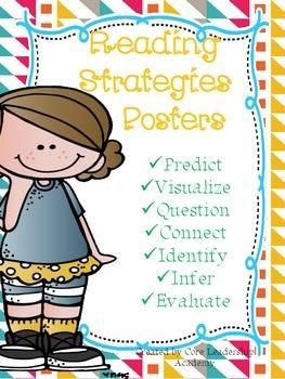 ~Freebie~ Reading Strategies Posters