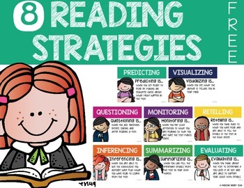 Reading Strategies Posters {FREE}