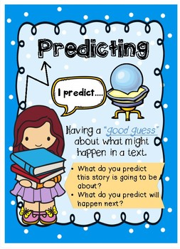 Reading Strategies - Posters