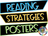 Reading Strategies Posters #flamingofriday