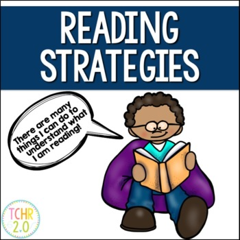 Reading Strategies Posters and Bunting Banner