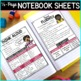 Reading Strategies Posters, Anchor Charts & Reading Interactive Notebook Sheets