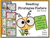 Reading Strategies Posters (Bee Theme)
