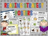 Reading Strategies Posters, Bookmarks, Labels, Student Car