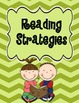 Reading Strategies Posters Bright Colors