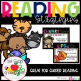 Reading Strategies for Kindergarten- Burlap Edition