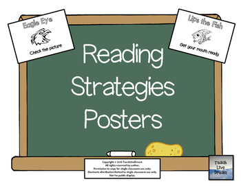 Reading Strategies Posters (FREE!)