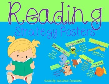 Reading Strategies Posters *Freebie*
