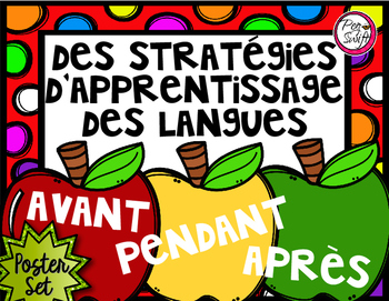 FRENCH Reading Strategies Posters (Writing, Speaking & Lis