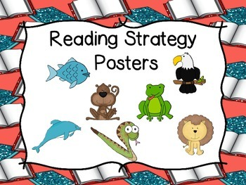 Reading Strategies Posters - Get Ready To Read Theme