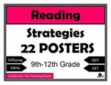Reading Strategies Posters - High School