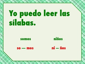 """Reading Strategies Posters In Spanish with """"I can"""" statements."""