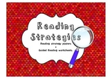 Reading Strategies Posters + Worksheets