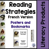 Reading Strategies Posters and Bookmarks French Version
