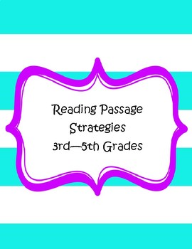 Reading Strategies Posters and Cards