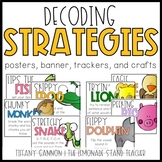 Reading Strategies Posters and Crafts