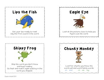 Reading Strategies Posters and Minis