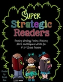 Super Strategic Readers: Posters, Thinking Stems, and Response Sheets