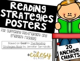 The Reading Strategies Book Posters for Pre-Emergent and E