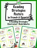 Reading Strategies Posters in SPANISH and FRENCH