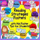 Reading Comprehension Strategy Posters * 3 posters/strateg