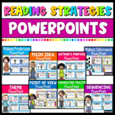 Reading Strategies PowerPoint Bundle | Distance Learning