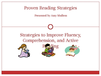 Reading Strategies PowerPoint - Effective Interventions