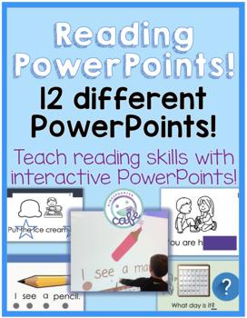Reading Strategies PowerPoint BUNDLE!