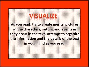 Reading Strategies PowerPoint & Graphic Organizers